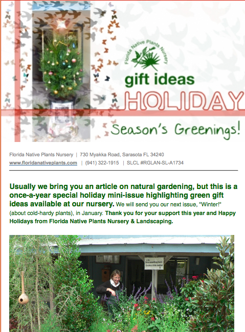 holiday 2011 newsletter
